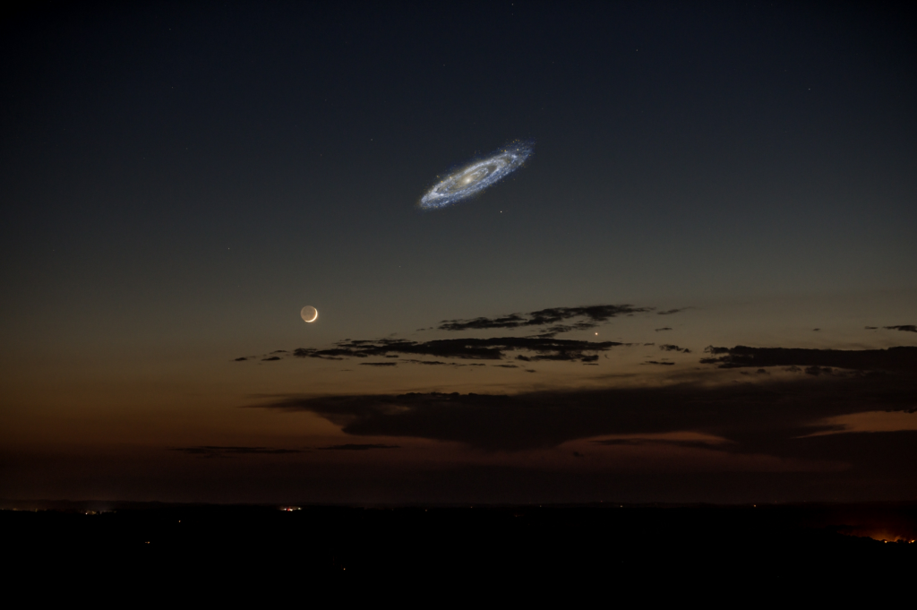 Andromeda actualSize