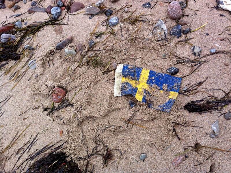 Swedish Beach Flag
