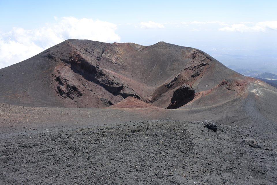 etna crater